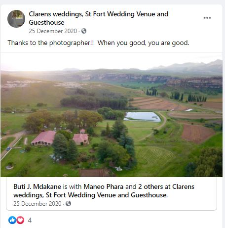 St Fort Country House Clarens More Than A Wedding Venue